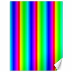 Rainbow Gradient Canvas 36  x 48