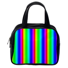Rainbow Gradient Classic Handbags (One Side)