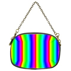 Rainbow Gradient Chain Purses (two Sides)
