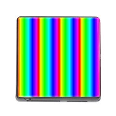 Rainbow Gradient Memory Card Reader (Square)