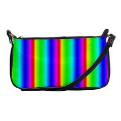 Rainbow Gradient Shoulder Clutch Bags