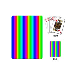 Rainbow Gradient Playing Cards (mini)
