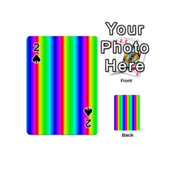 Rainbow Gradient Playing Cards 54 (Mini)