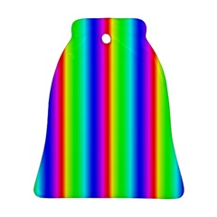 Rainbow Gradient Ornament (bell)