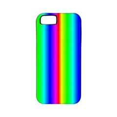 Rainbow Gradient Apple iPhone 5 Classic Hardshell Case (PC+Silicone)