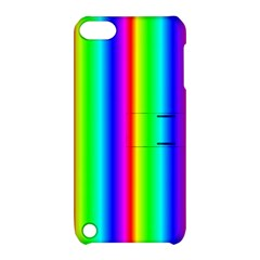 Rainbow Gradient Apple Ipod Touch 5 Hardshell Case With Stand