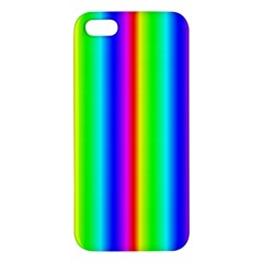 Rainbow Gradient Apple Iphone 5 Premium Hardshell Case