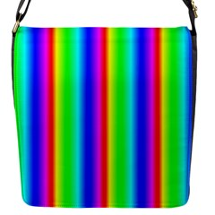 Rainbow Gradient Flap Messenger Bag (s)