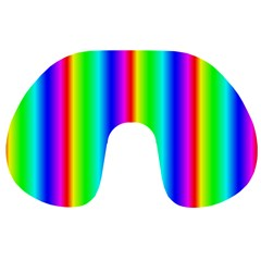 Rainbow Gradient Travel Neck Pillows