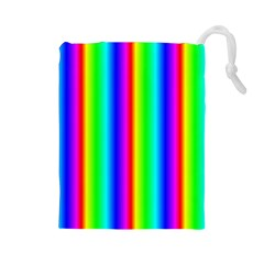 Rainbow Gradient Drawstring Pouches (large)