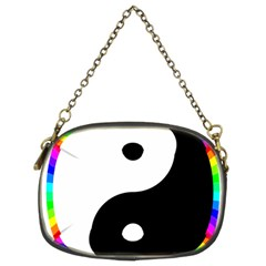 Rainbow Around Yinyang Chain Purses (two Sides)