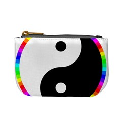 Rainbow Around Yinyang Mini Coin Purses