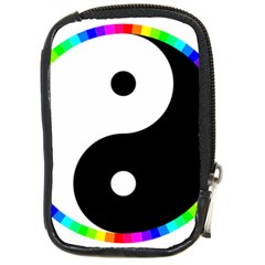 Rainbow Around Yinyang Compact Camera Cases