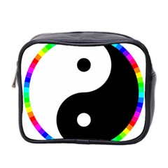 Rainbow Around Yinyang Mini Toiletries Bag 2 Side