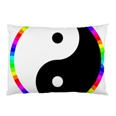 Rainbow Around Yinyang Pillow Case (Two Sides)