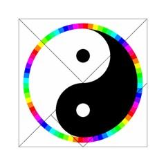 Rainbow Around Yinyang Acrylic Tangram Puzzle (6  x 6 )