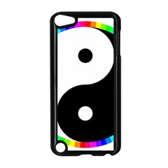 Rainbow Around Yinyang Apple Ipod Touch 5 Case (black)