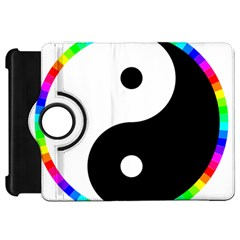 Rainbow Around Yinyang Kindle Fire Hd 7