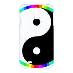 Rainbow Around Yinyang Samsung Galaxy S4 I9500/i9505 Hardshell Case