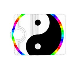 Rainbow Around Yinyang Kindle Fire Hd (2013) Flip 360 Case