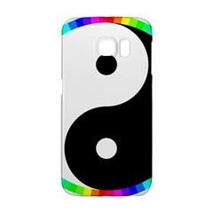 Rainbow Around Yinyang Galaxy S6 Edge