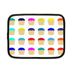 Colorful Cupcakes Pattern Netbook Case (Small)