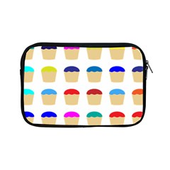 Colorful Cupcakes Pattern Apple Ipad Mini Zipper Cases