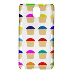Colorful Cupcakes Pattern Samsung Galaxy Note 3 N9005 Hardshell Case