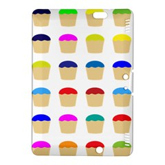 Colorful Cupcakes Pattern Kindle Fire HDX 8.9  Hardshell Case