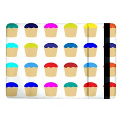 Colorful Cupcakes Pattern Samsung Galaxy Tab Pro 10 1  Flip Case