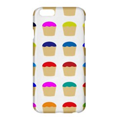 Colorful Cupcakes Pattern Apple Iphone 6 Plus/6s Plus Hardshell Case