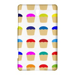 Colorful Cupcakes Pattern Samsung Galaxy Tab S (8 4 ) Hardshell Case
