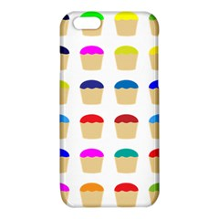 Colorful Cupcakes Pattern iPhone 6/6S TPU Case