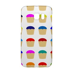 Colorful Cupcakes Pattern Galaxy S6 Edge