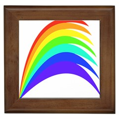 Rainbow Framed Tiles