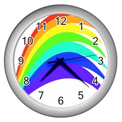 Rainbow Wall Clocks (silver)