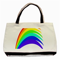 Rainbow Basic Tote Bag