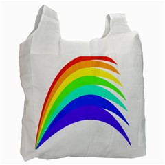 Rainbow Recycle Bag (One Side)