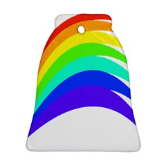 Rainbow Bell Ornament (two Sides)