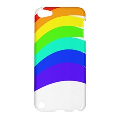 Rainbow Apple Ipod Touch 5 Hardshell Case