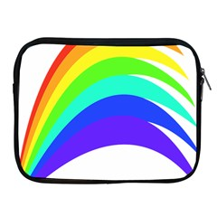 Rainbow Apple Ipad 2/3/4 Zipper Cases