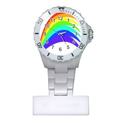 Rainbow Plastic Nurses Watch