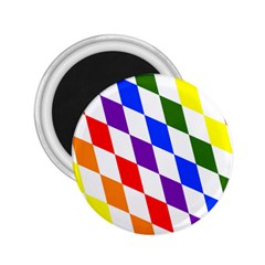 Rainbow Flag Bavaria 2.25  Magnets