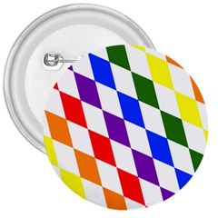 Rainbow Flag Bavaria 3  Buttons