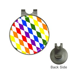Rainbow Flag Bavaria Hat Clips with Golf Markers