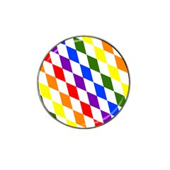 Rainbow Flag Bavaria Hat Clip Ball Marker (4 Pack)