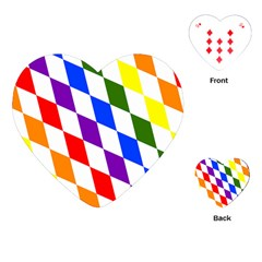 Rainbow Flag Bavaria Playing Cards (Heart)