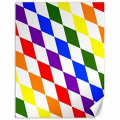 Rainbow Flag Bavaria Canvas 18  x 24