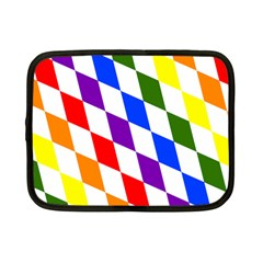 Rainbow Flag Bavaria Netbook Case (small)
