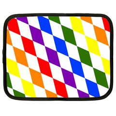 Rainbow Flag Bavaria Netbook Case (xl)